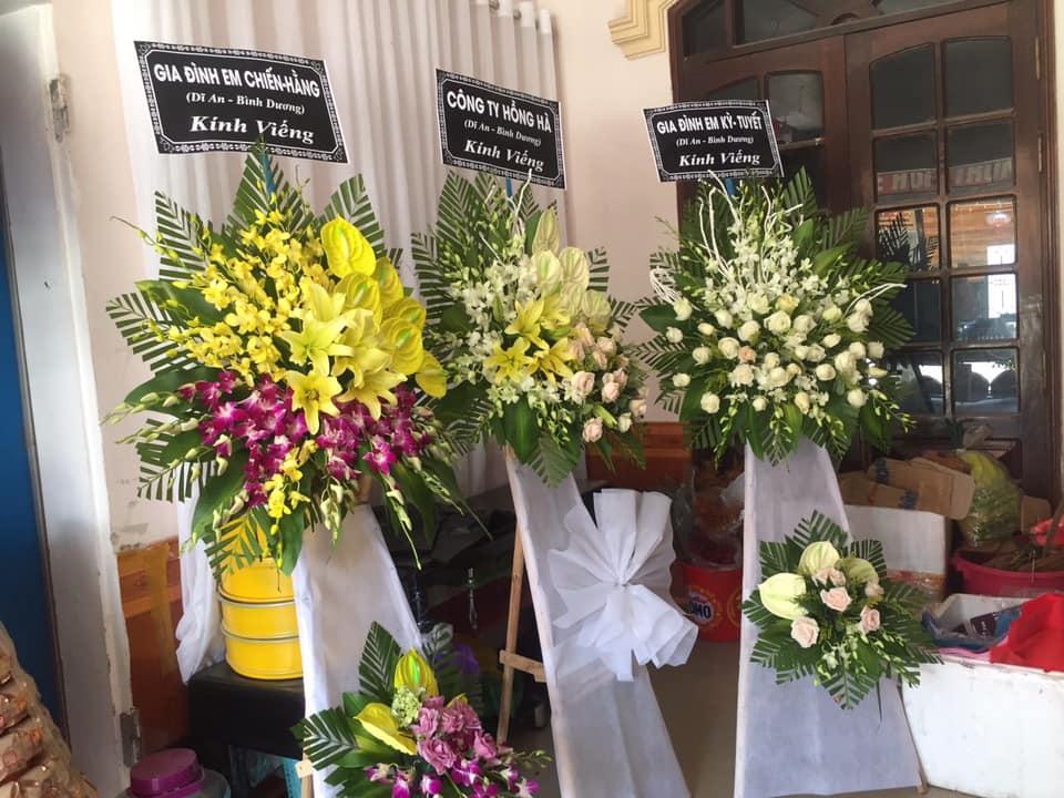 Hoa viếng tang thành phố Vinh