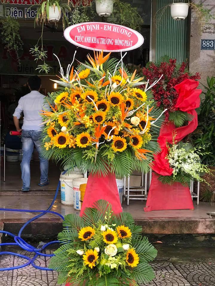 Cửa hàng hoa tươi thành phố nha trang