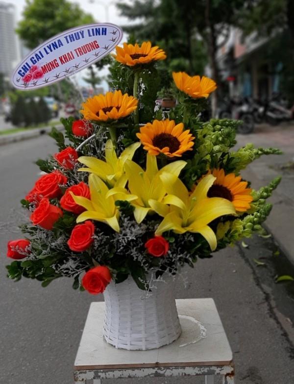 Hoa mừng khai trương Vũng Tàu