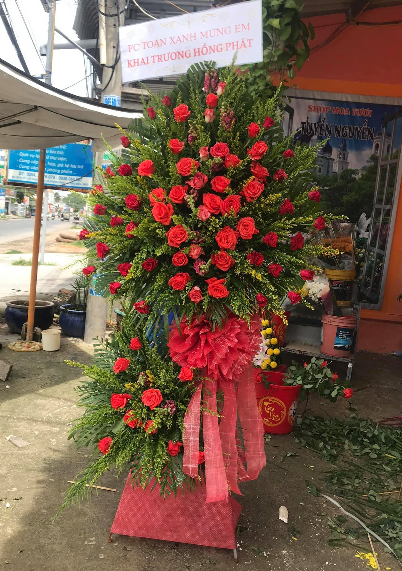 Gửi điện hoa ở Vũng Tàu