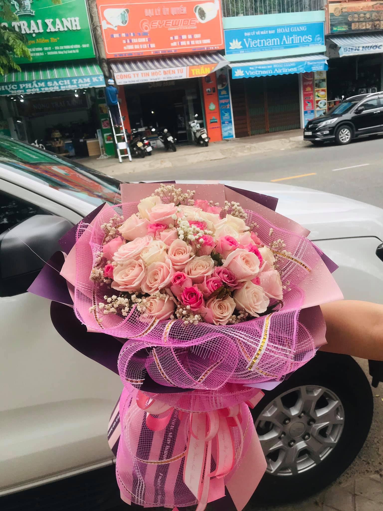 Bó hoa sinh nhật Tam Kỳ