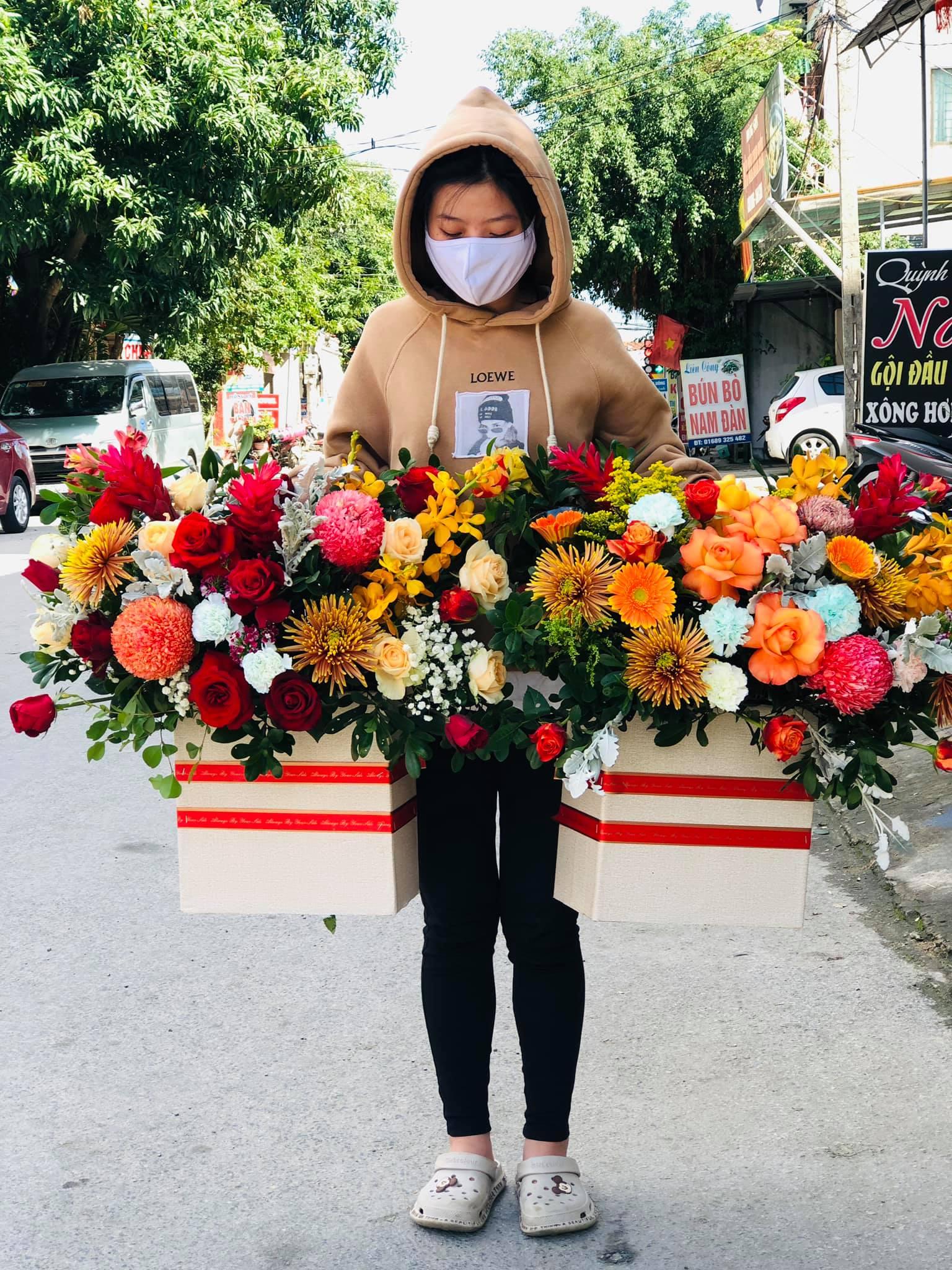 Shop hoa Quán Hành, Nghi Lộc, Nghệ An