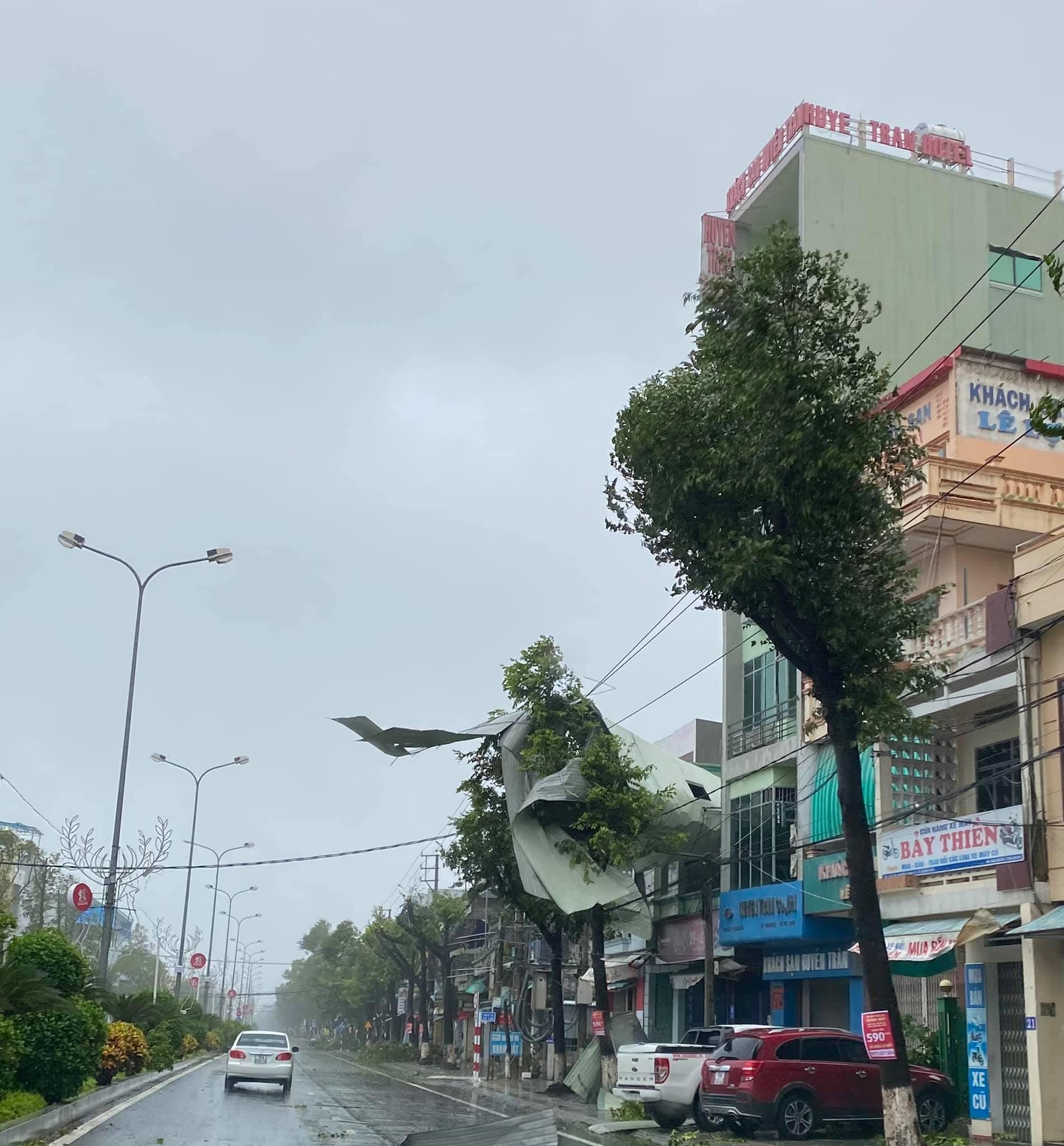 Quảng Ngãi sau bão số 6, bão Molave, tháng 10/2020