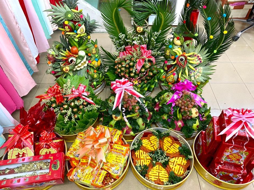Mâm quả cưới đẹp ở Huế