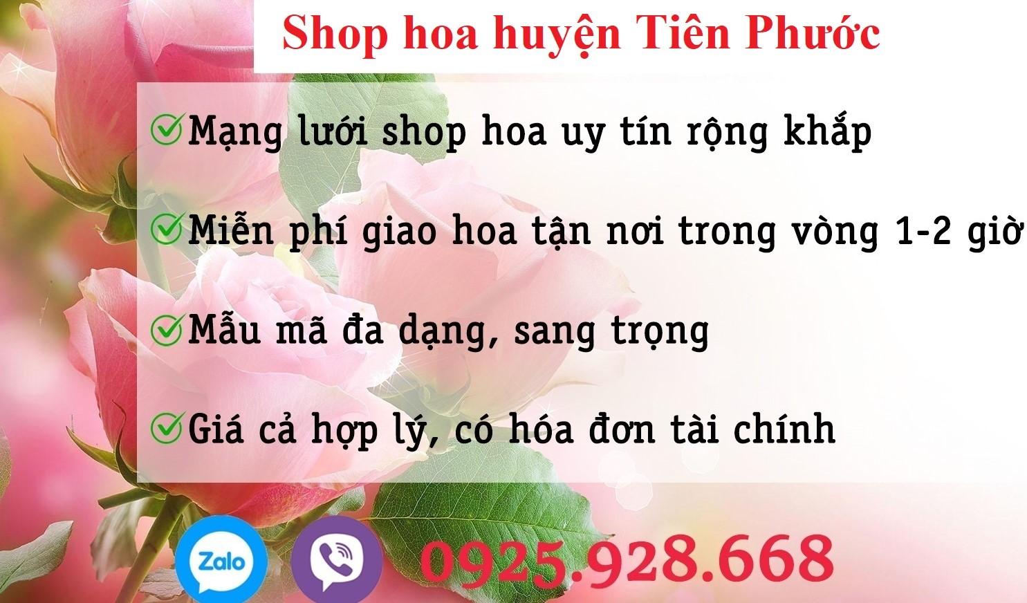 Shop hoa thị trấn Tiên Kỳ, huyện Tiên Phước