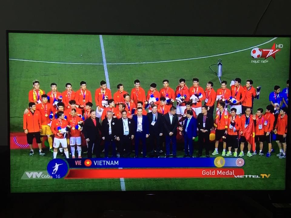 Việt Nam nhận huy chương vàng