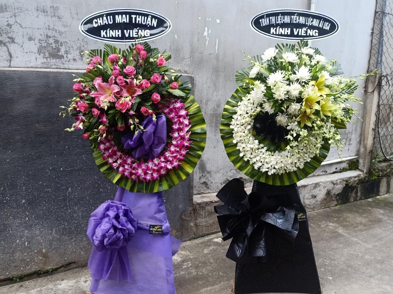 Gửi hoa chia buồn đám tang