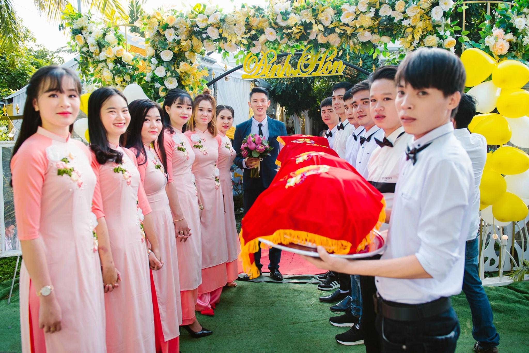 Lễ Đính hôn ở miền Nam