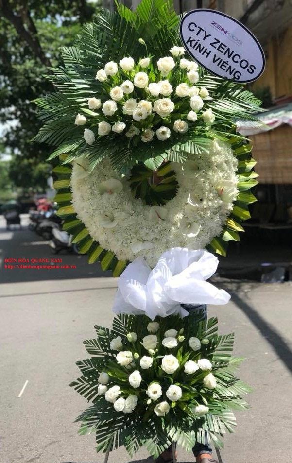 Vòng hoa đi đám tang