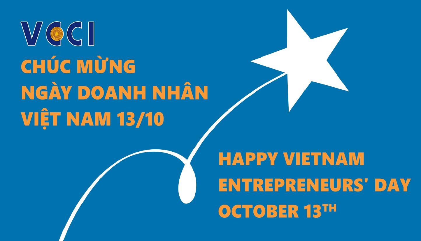 Phòng Công nghiệp và Thương mại Việt Nam chúc mừng ngày doanh nhân Việt Nam