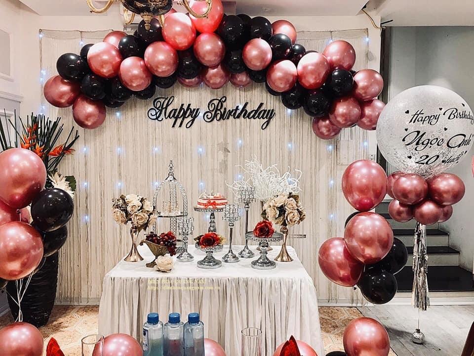 Tổ chức sinh nhật ở Nhà hàng