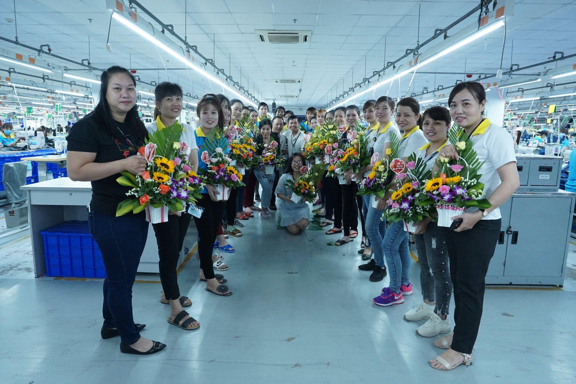 Sending flowers to Vietnam