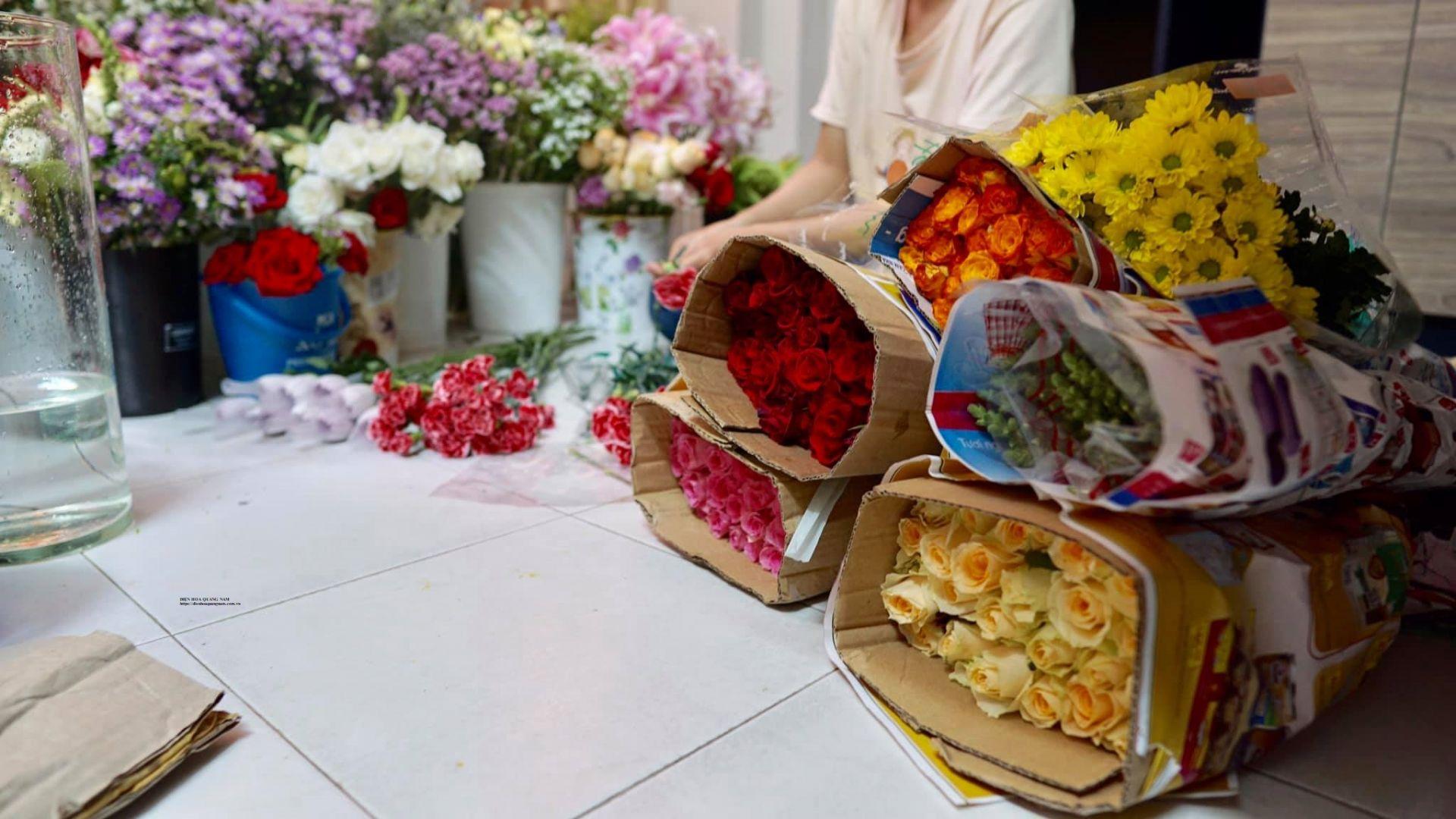 Shop hoa tươi Tam Kỳ - Hoa tươi Quảng Nam