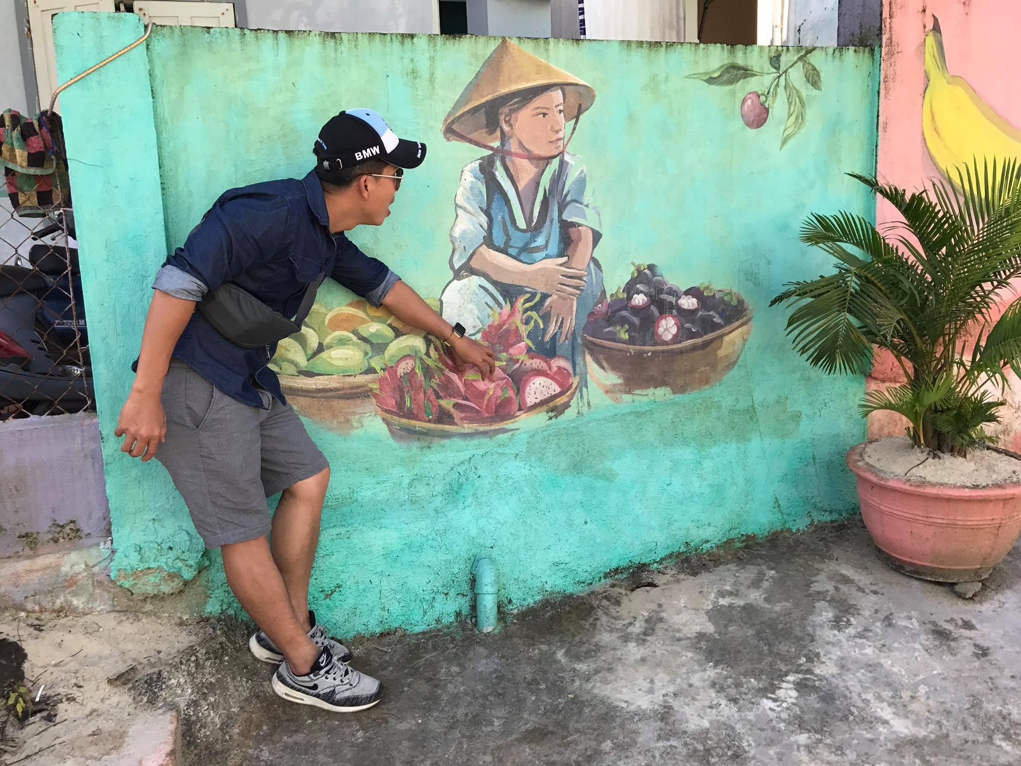 Làng bích họa Tam Thanh, du lịch Tam Kỳ