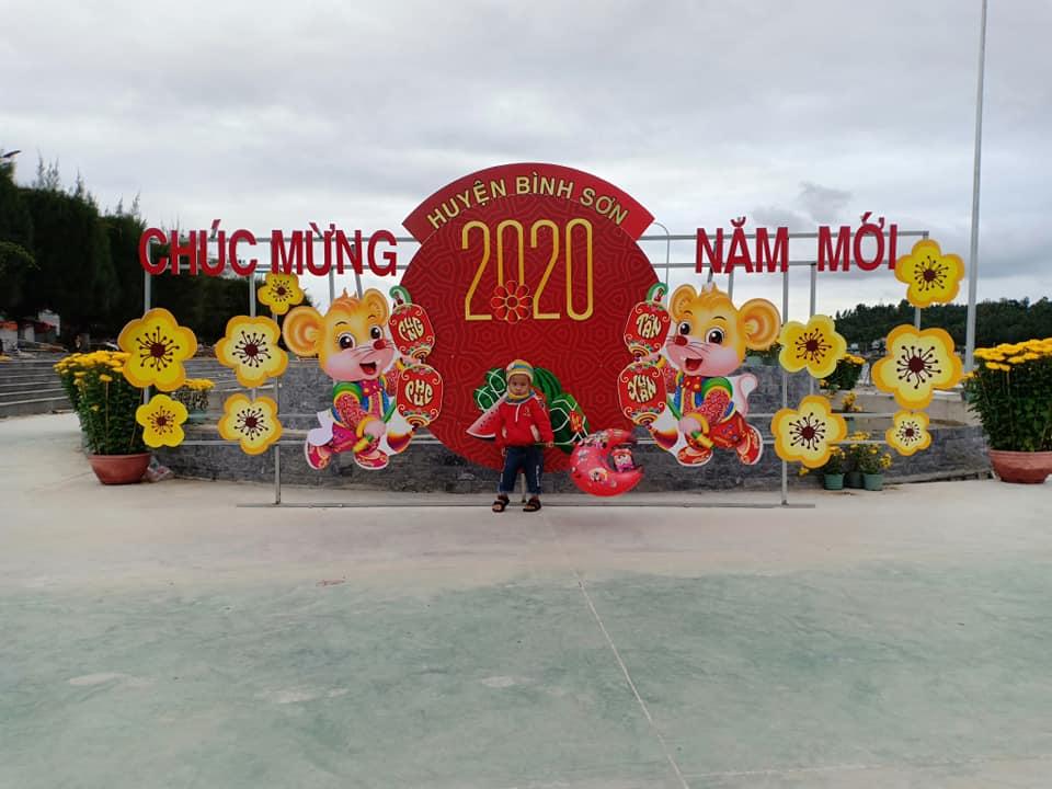 Shop hoa thị trấn Châu Ổ, Bình Sơn
