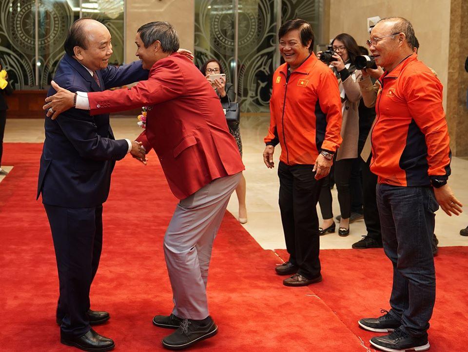 Thủ tướng gặp mặt U22