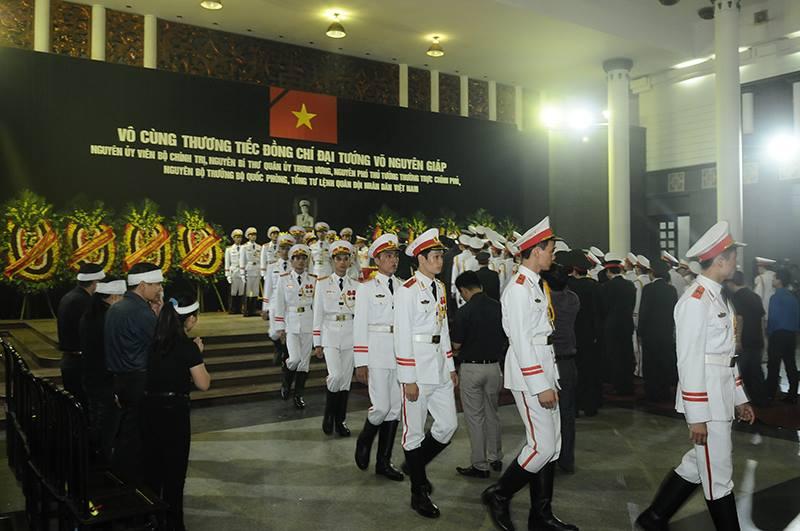 Quốc tang đại tướng Võ Nguyên Giáp